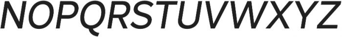 Magdelin Medium Italic otf (500) Font UPPERCASE