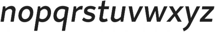 Magdelin Medium Italic otf (500) Font LOWERCASE
