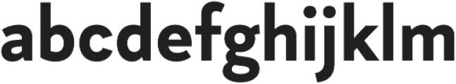 Magdelin otf (700) Font LOWERCASE