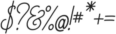 Magellan Script Regular otf (400) Font OTHER CHARS