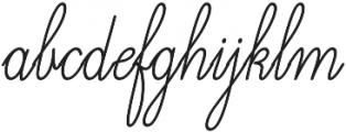 Magellan Script Regular otf (400) Font LOWERCASE