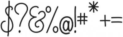Magellan Script otf (400) Font OTHER CHARS