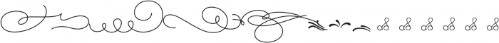 Magellan ornates otf (400) Font LOWERCASE