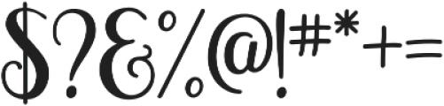 Magellan otf (400) Font OTHER CHARS