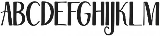 Magellan otf (400) Font UPPERCASE