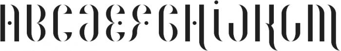 Magenta Flow ttf (400) Font UPPERCASE