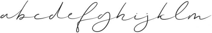 Magenta Regular Regular otf (400) Font LOWERCASE