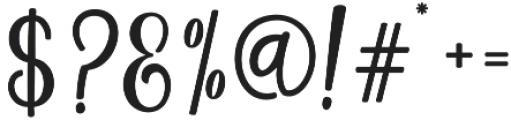 Magenta Script otf (400) Font OTHER CHARS
