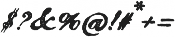 Magesta Script Bold otf (700) Font OTHER CHARS