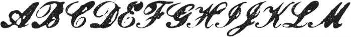 Magesta Script Bold otf (700) Font UPPERCASE
