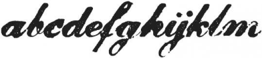 Magesta Script Bold otf (700) Font LOWERCASE