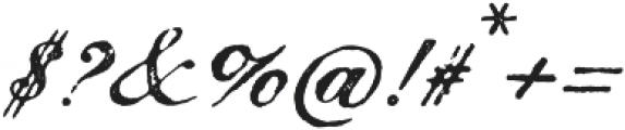 Magesta Script Mix otf (400) Font OTHER CHARS