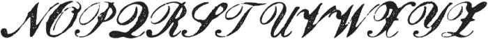 Magesta Script Mix otf (400) Font UPPERCASE