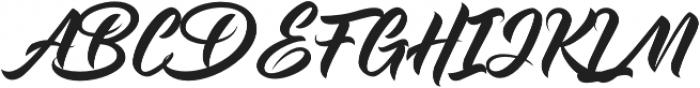 Maghrib otf (400) Font UPPERCASE