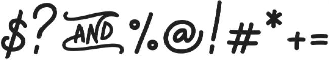 Magic Anomali otf (400) Font OTHER CHARS