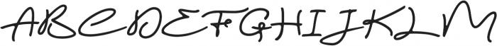 Magic Anomali otf (400) Font UPPERCASE