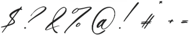 Magic Flower Script otf (400) Font OTHER CHARS