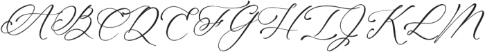 Magic Flower Script otf (400) Font UPPERCASE
