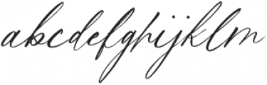 Magic Flower Script otf (400) Font LOWERCASE