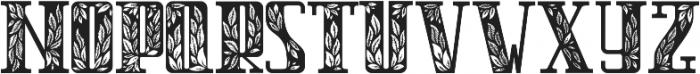 Magic Garden ttf (400) Font UPPERCASE