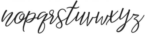 Magister otf (400) Font LOWERCASE