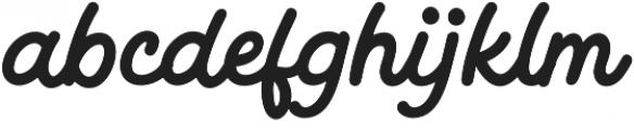 Magnatec otf (400) Font LOWERCASE