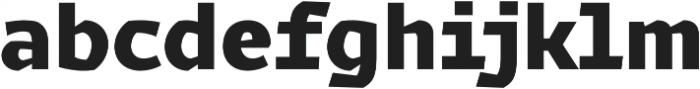 Magnetic Pro Black otf (900) Font LOWERCASE