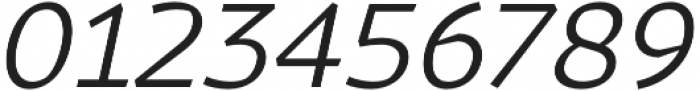 Magnetic Pro Light italic otf (300) Font OTHER CHARS