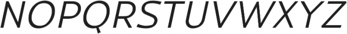 Magnetic Pro Light italic otf (300) Font UPPERCASE