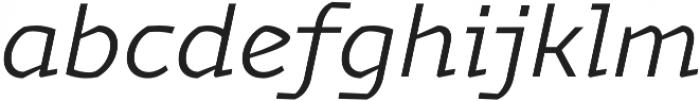 Magnetic Pro Light italic otf (300) Font LOWERCASE
