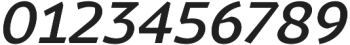 Magnetic Pro Medium italic otf (500) Font OTHER CHARS