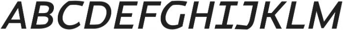 Magnetic Pro Medium italic otf (500) Font UPPERCASE
