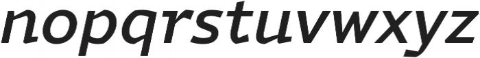 Magnetic Pro Medium italic otf (500) Font LOWERCASE