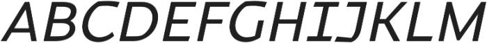 Magnetic Pro Regular italic otf (400) Font UPPERCASE