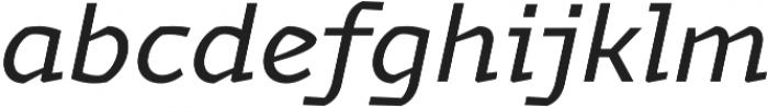 Magnetic Pro Regular italic otf (400) Font LOWERCASE