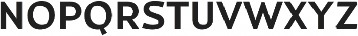 Magnetic Pro otf (700) Font UPPERCASE