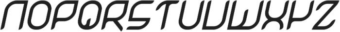 Magnetica otf (700) Font UPPERCASE