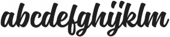 Magneton Bold otf (700) Font LOWERCASE