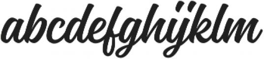 Magneton Regular Slanted otf (400) Font LOWERCASE