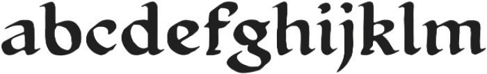 Magnificent otf (400) Font LOWERCASE