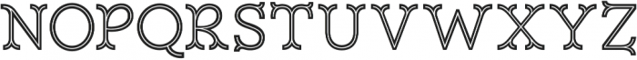 Magnifique Inline otf (400) Font UPPERCASE