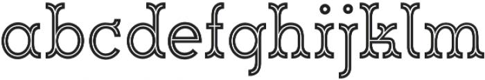 Magnifique Inline otf (400) Font LOWERCASE