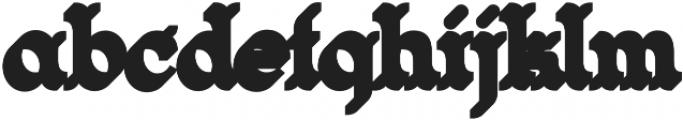 Magnifique Shadow otf (400) Font LOWERCASE