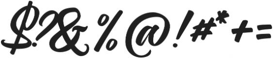 Magnison Script otf (400) Font OTHER CHARS