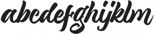 Magnison Script otf (400) Font LOWERCASE