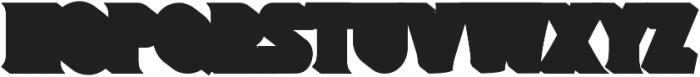 Magnison Serif Extrude otf (400) Font UPPERCASE