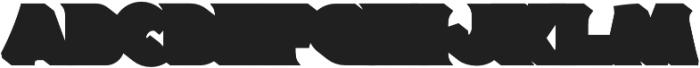 Magnison Serif Extrude otf (400) Font LOWERCASE