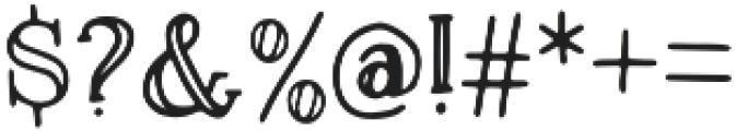 Magnolia Plantation Inline otf (400) Font OTHER CHARS