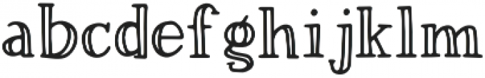 Magnolia Plantation Inline otf (400) Font LOWERCASE