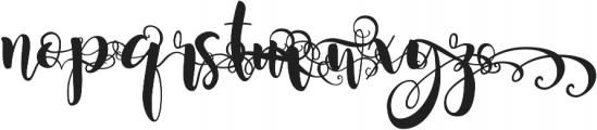 Magnolia Sky Alternates ttf (400) Font LOWERCASE